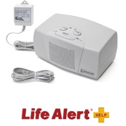 Life Alert - In Home medical alert system - base unit and accessories