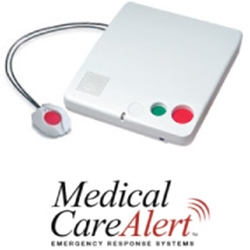 Medical Care Alert - Home and Yard System - base unit and pendant