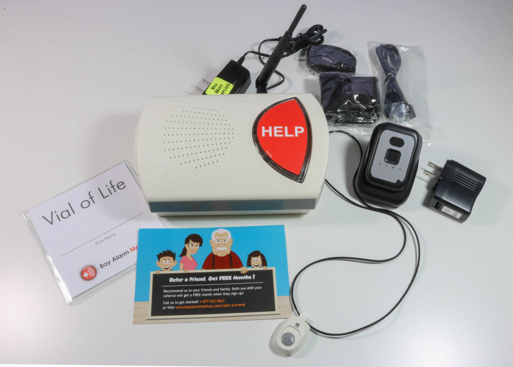 bay alarm medical in home and gps bundle