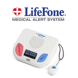 Lifefone review medical alert system reviews lifefone fall alert pendant and base unit mozeypictures Images