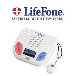 LifeFone - Fall alert pendant and base unit