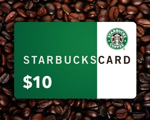 Get a free $10 Starbucks gift card when you review our site