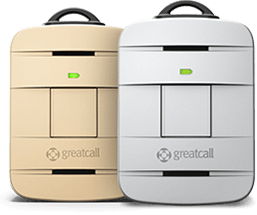 GreatCall Lively devices, gold and silver