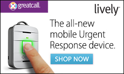 GreatCall Lively Mobile Urgent Response Device