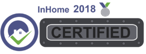 InHomeSafetyGuide certification seal for 2018