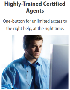GreatCall agents, certified by International Academies of Emergency Dispatch (IAED)