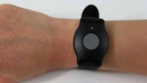 medical alert device, wristband