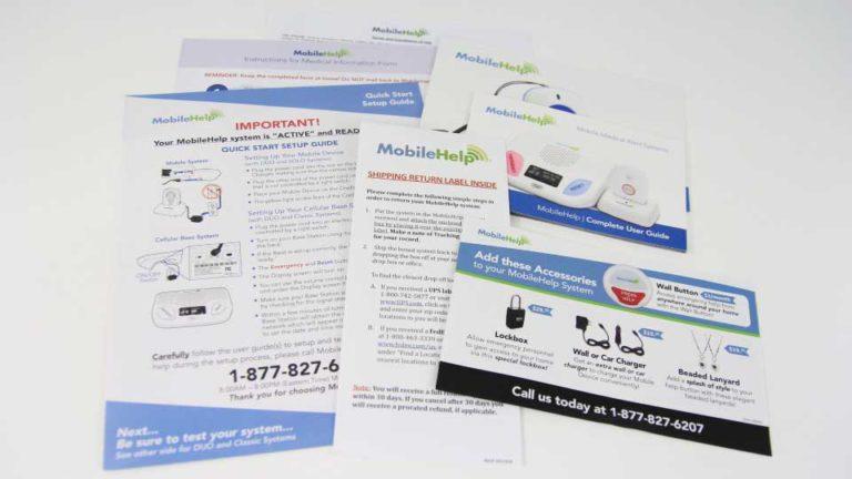 MobileHelp Medical Alert Instructions