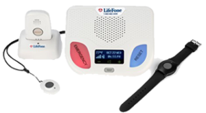 LifeFone At-Home and On-The-Go-GPS medical alert system